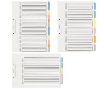 カラー仕切りカード<PP>(ファイル用)