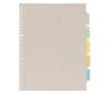 透明ポケット用カラーインデックス(多穴)