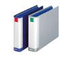 ライオンパイプ式ファイル 両開き<環境>A4判E型